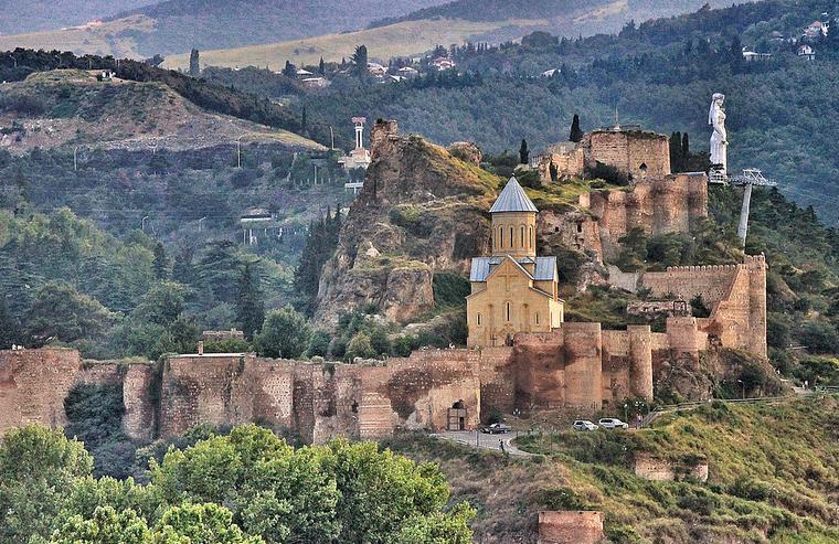 вт крепость Нарикала Тбилисси